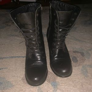 Steve Madden Shoes - Steve Madden Troopa (Combat Boot Style)